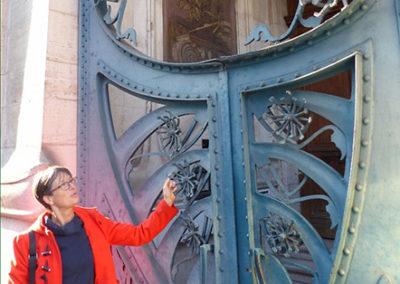 Christiane Greeter à Nancy