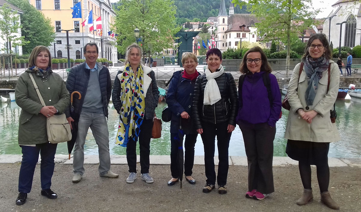 Greeters d'Annecy team