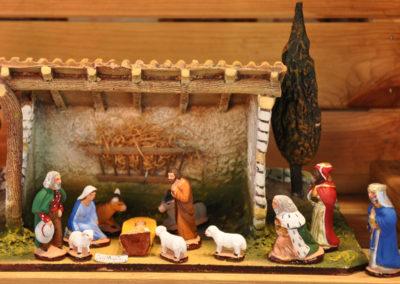 Santons et crêche de Noël