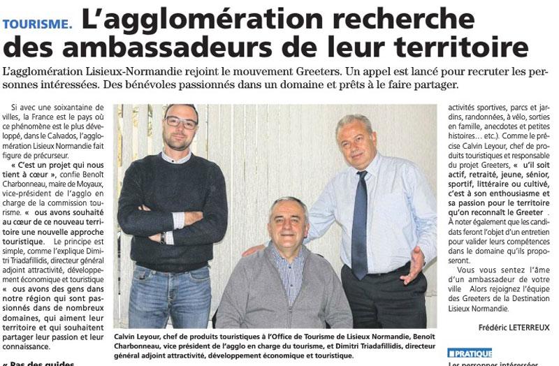 Lisieux-Normandie cherche ambassadeurs