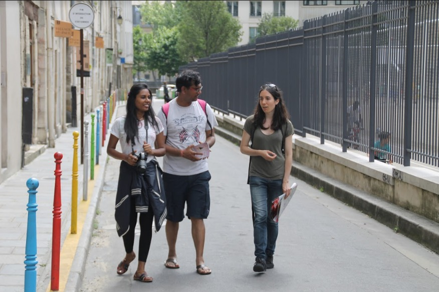 Quartier du Sentier: guided tour with a Greeters from Paris