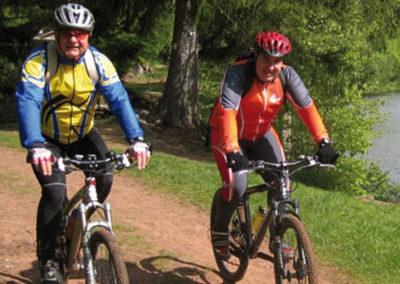 Biking in Petite Pierre  Forest