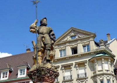 Place Mulhouse avec un Greeter