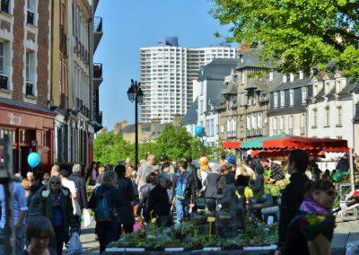 Rennes - open markets