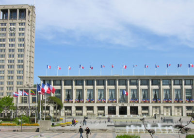 Le Havre - Town Hall of Auguste Perret