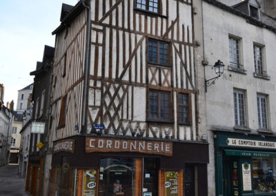 Blois old city