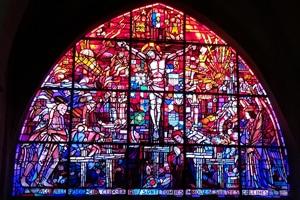 Vitraux de lEglise Saint-Michel de Vaucelles - Caen Caen la mer Tourisme