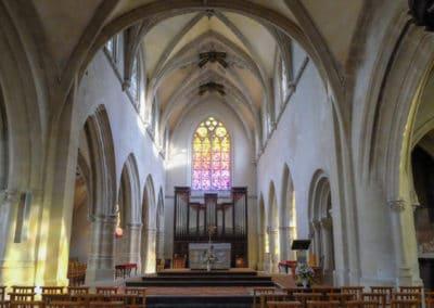 Saint-Michel de Vaucelles church Caen