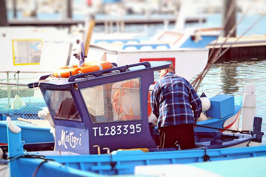 Flotille de pêche