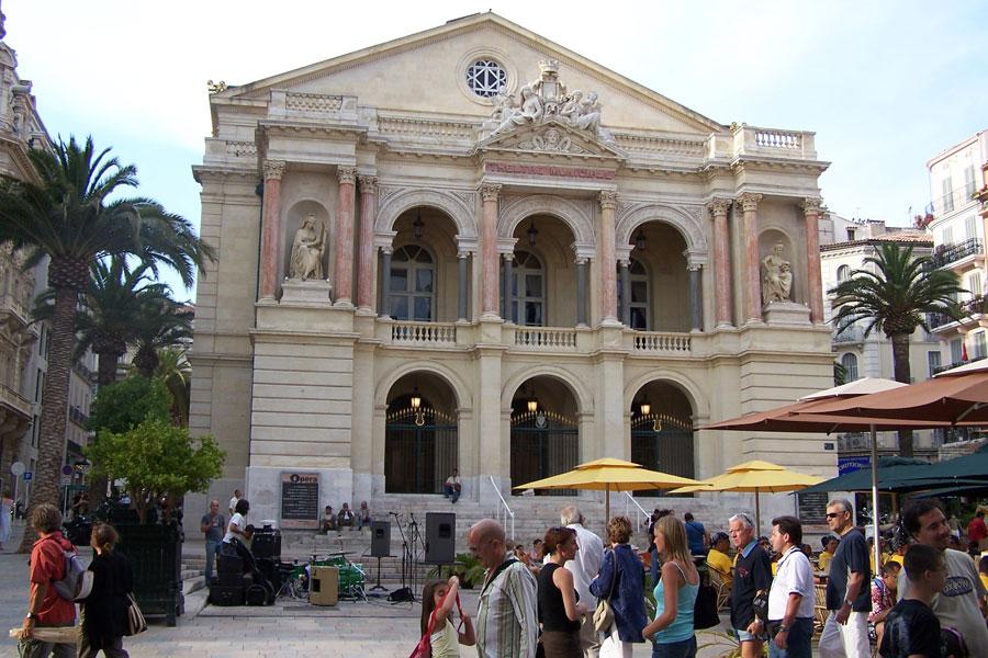 Facade de l'Opéra de Toulon