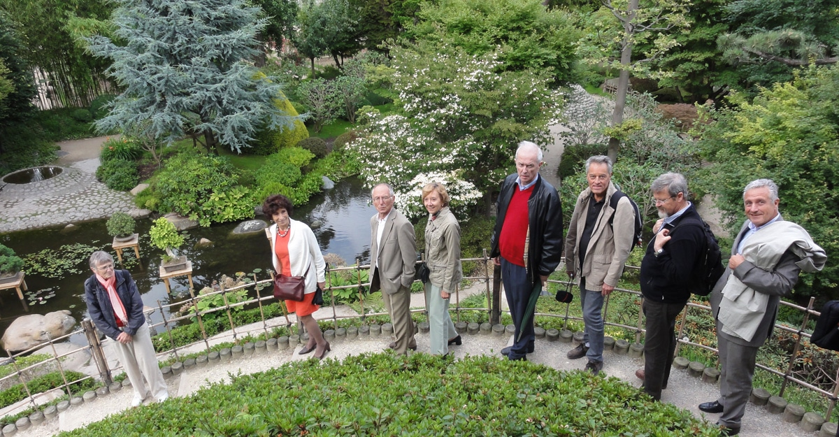 The Boulogne Greeters in the Albert Kahn Gardens