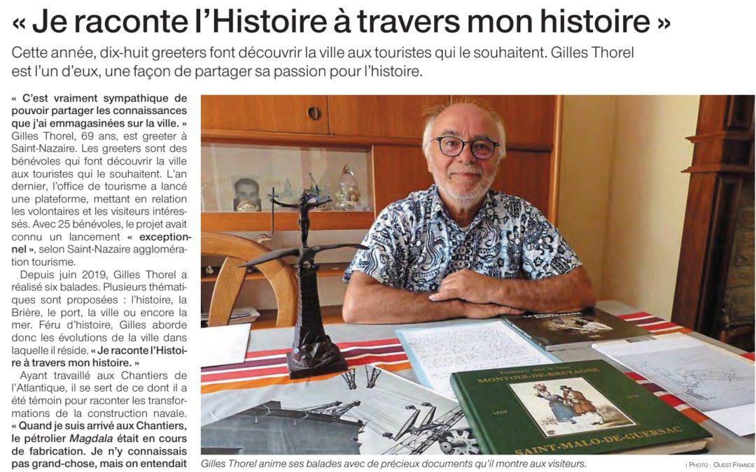 Gilles de Saint Nazaire se raconte !