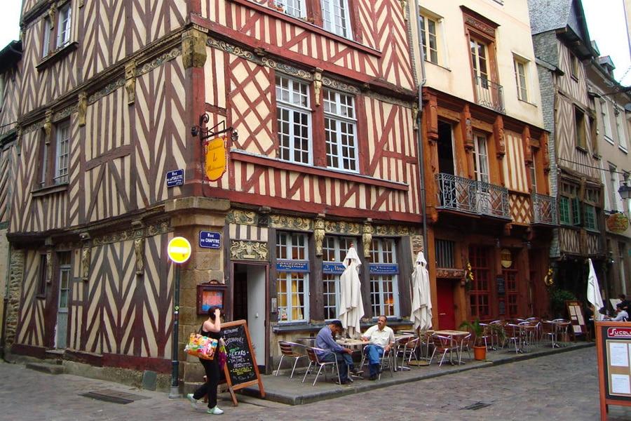 La vieille ville de Rennes