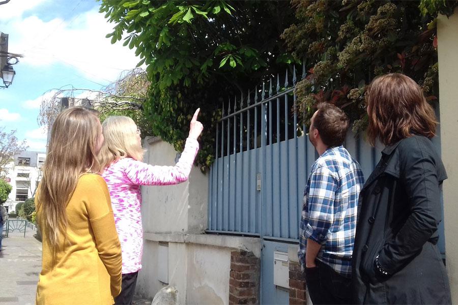 Les Greeters de Boulogne dans les jardins Albert Kahn