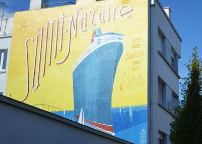 Balade Art et Culture dans la ville. Fresque des frères Toque (©Klose-Andrea)