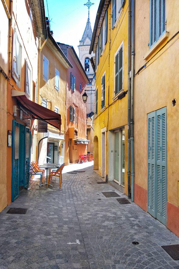 Vielle ville Sanary-sur-mer
