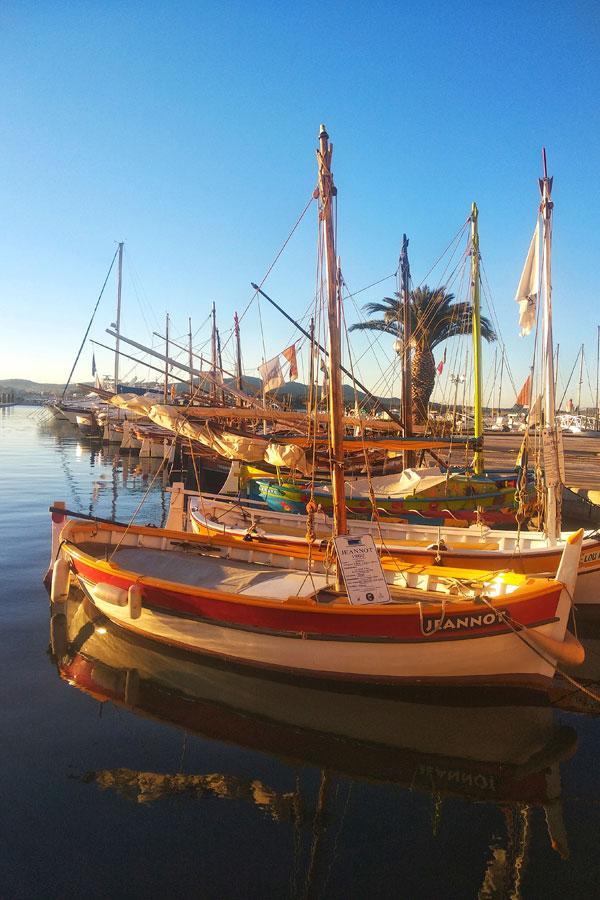 Le port de Sanary-sur-mer