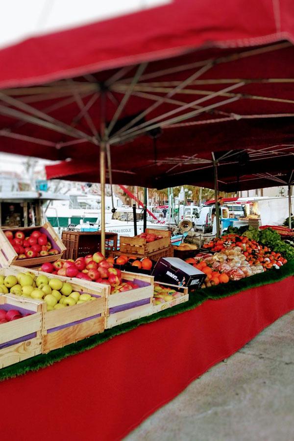 Le Marché provencal de Sanary