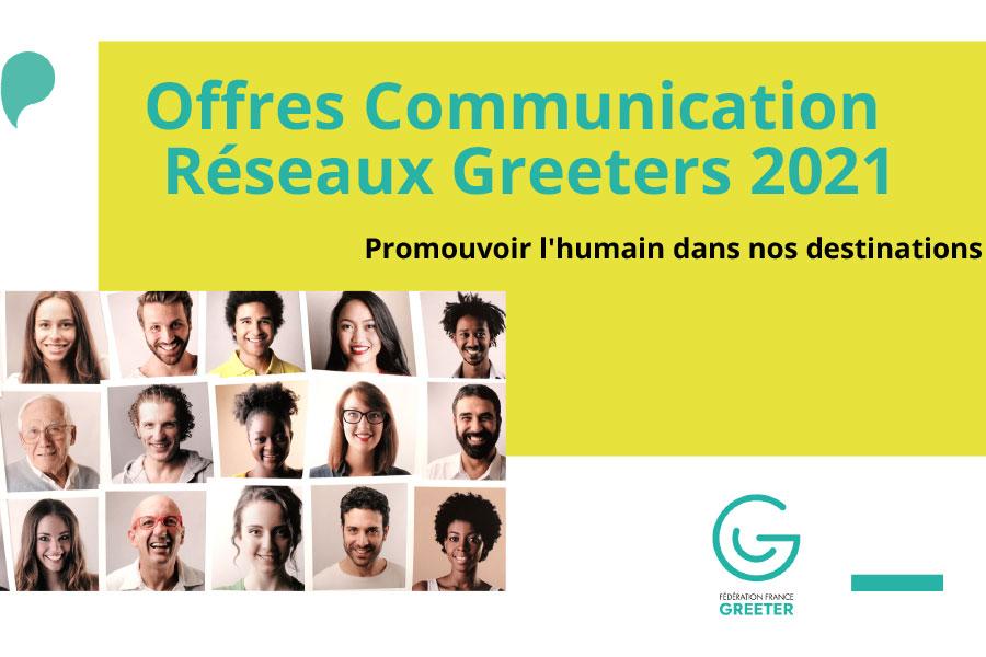 Offres Communication Réseaux Greeters 2021