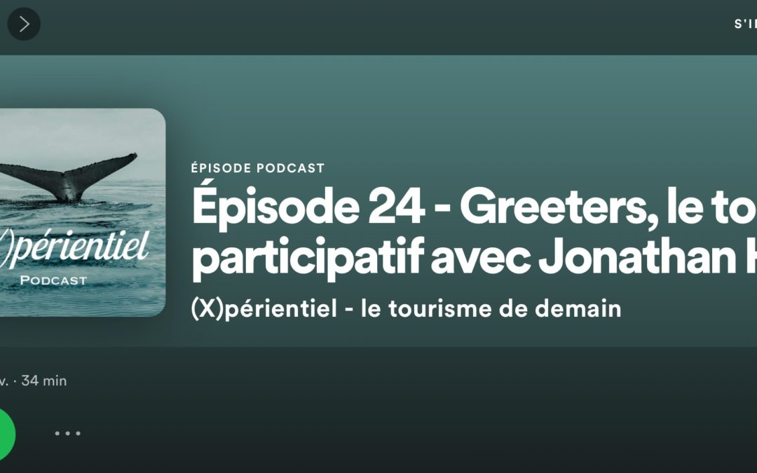 Les Greeters en podcast
