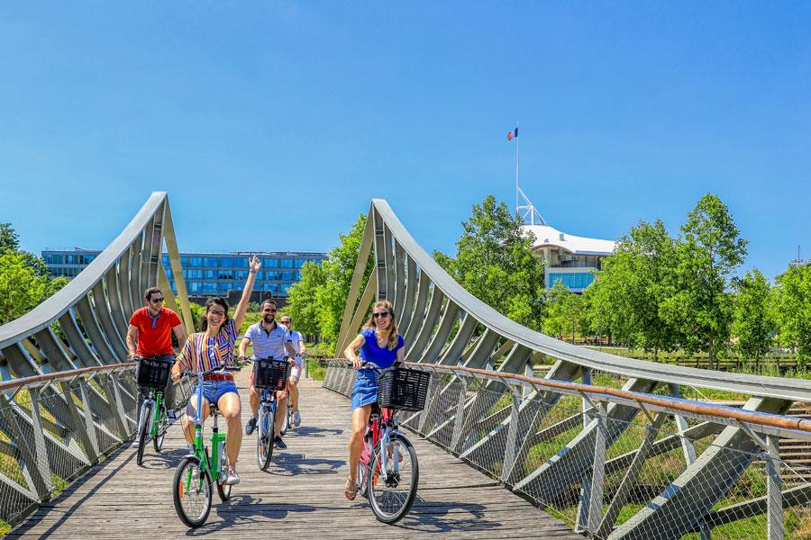Balade en vélo à Metz Métropole